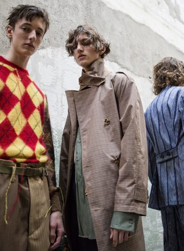 Marni Spring 2018 Men's Fashion Show Backstage