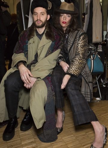 Antonio Marras Fall 2017 Menswear Fashion Show Backstage