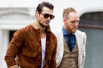 street style london mens fashion week david gandy photo