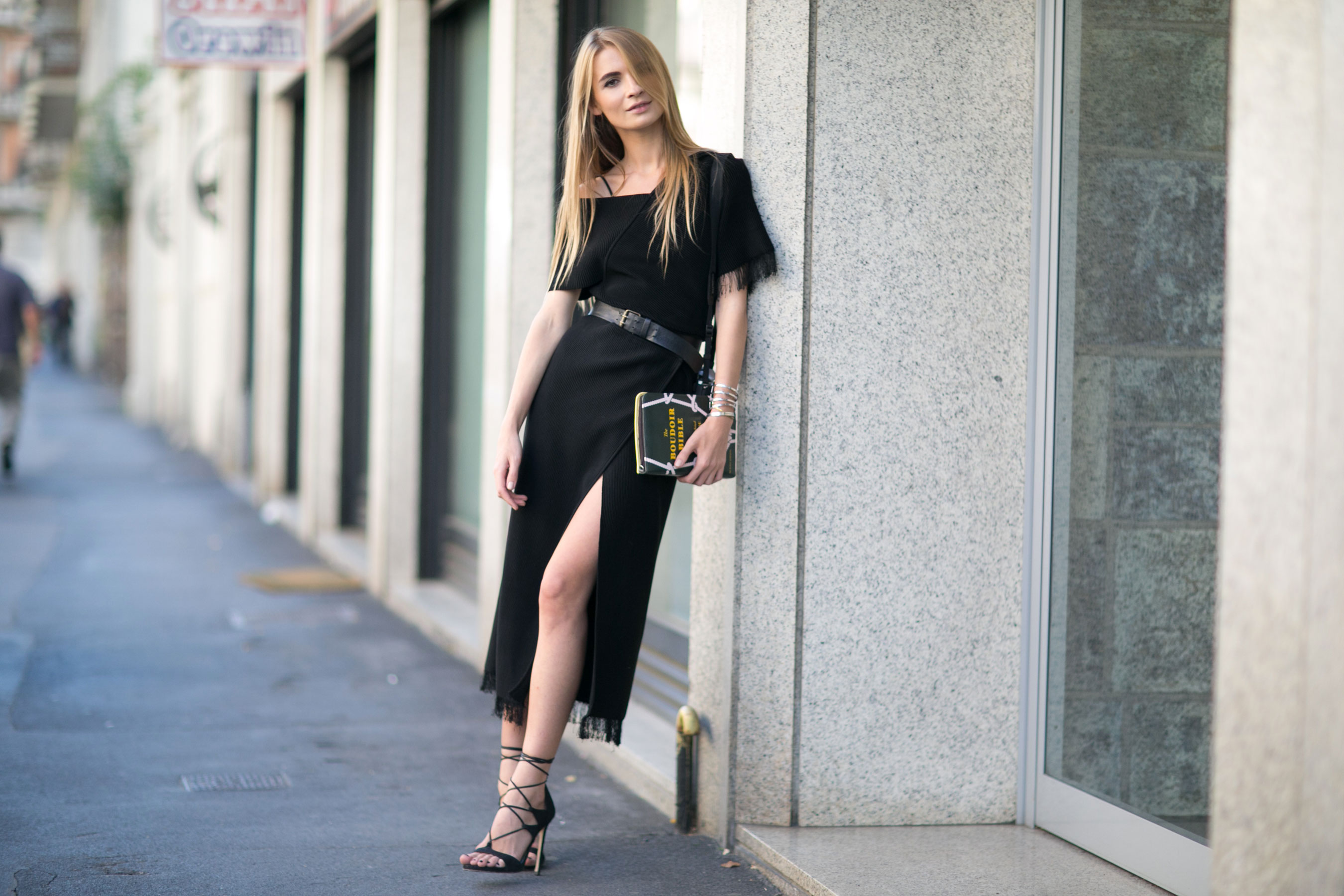 Milan Fashion Week Street Style Day 3 September 2015 The Impression 110