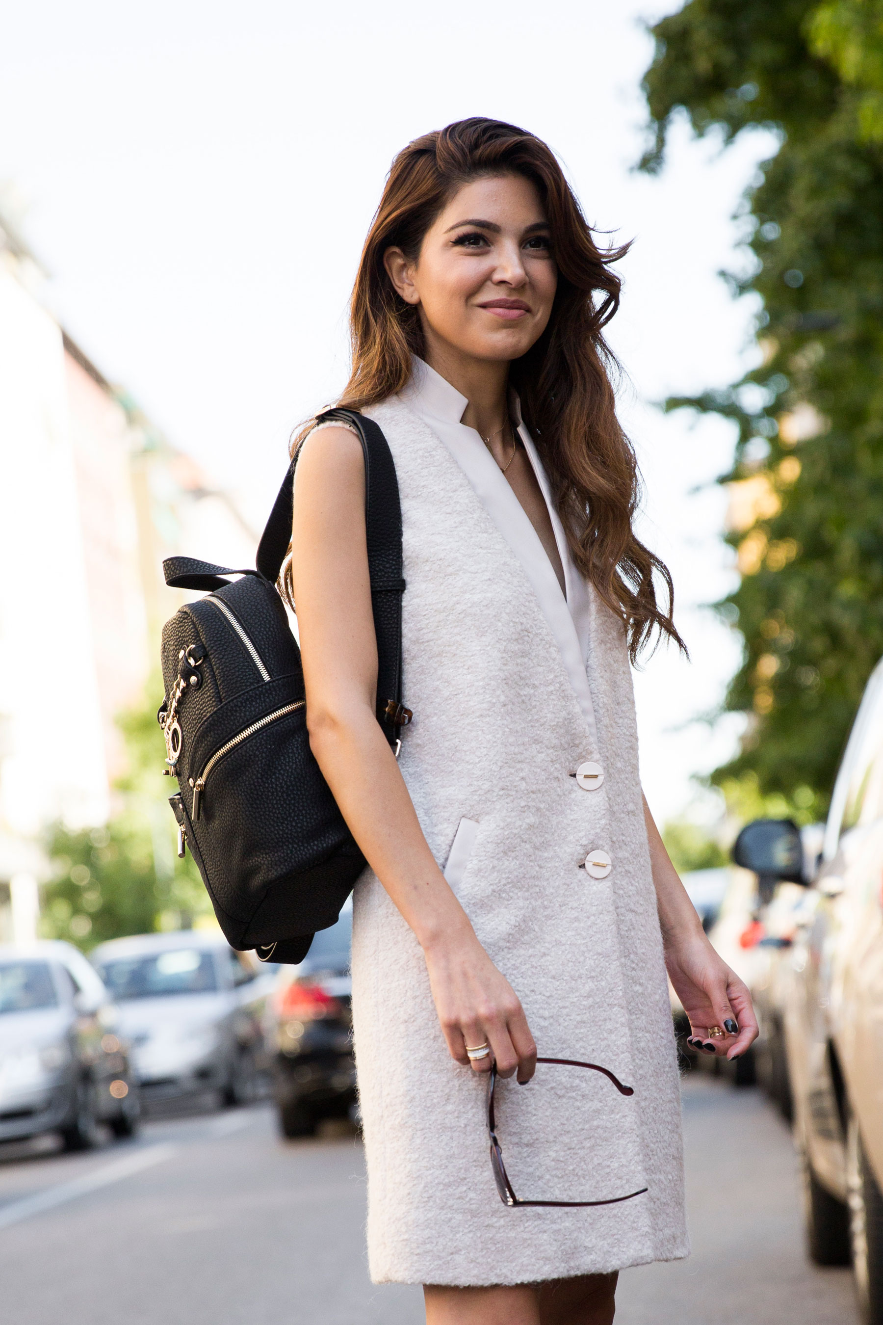Milan Fashion Week Street Style Day 3 September 2015 The Impression 210