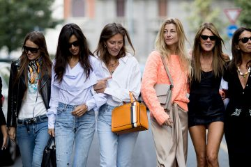 Milan Fashion Week Street Style Spring 2018 Day 5