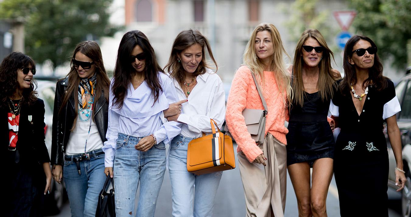 Milan Fashion Week Street Style Spring 2018 Day 5