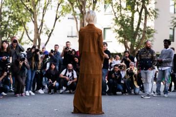 Milan fashion week Street Style Day 3 September 2015
