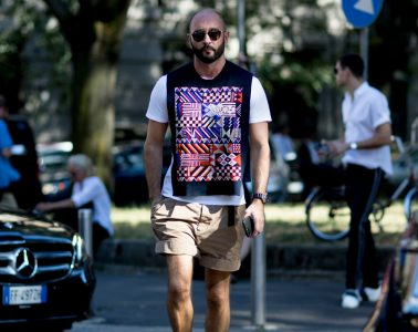 Milan Fashion Week Men's Street Style Spring 2018 Day 2