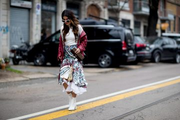 Milan Fashion Week Fall 2017 Street Style Day 2
