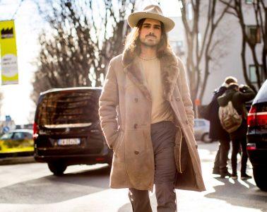 Milan Men's Fashion Week Street Style Day 1 Fall 2017
