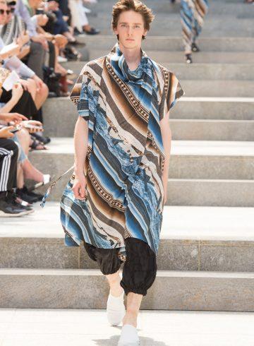 Issey Miyake Spring 2018 Men's Fashion Show