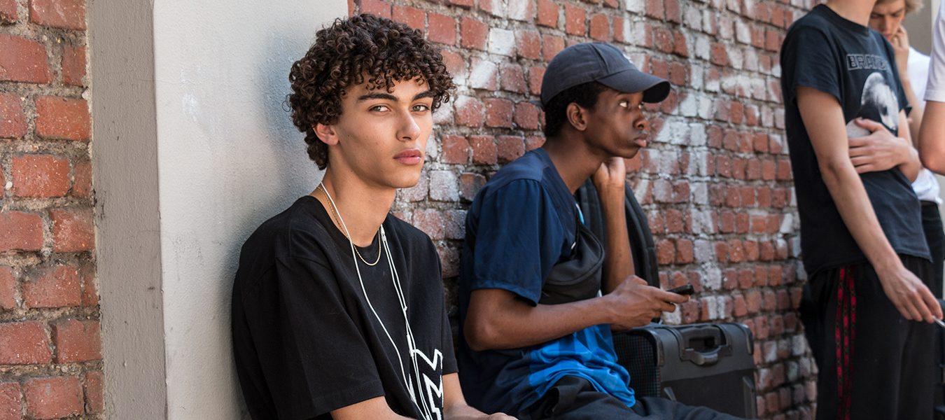Milan Men's Model Street Style Spring 2018 by Poli Alexeeva