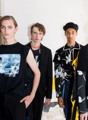 No. 21 Spring 2018 Fashion Show Backstage