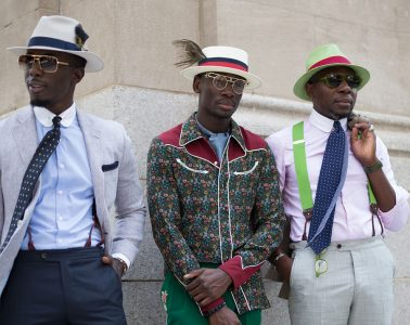 New York Fashion Week Men's Street Style Spring 2018 Day 3 Cont.