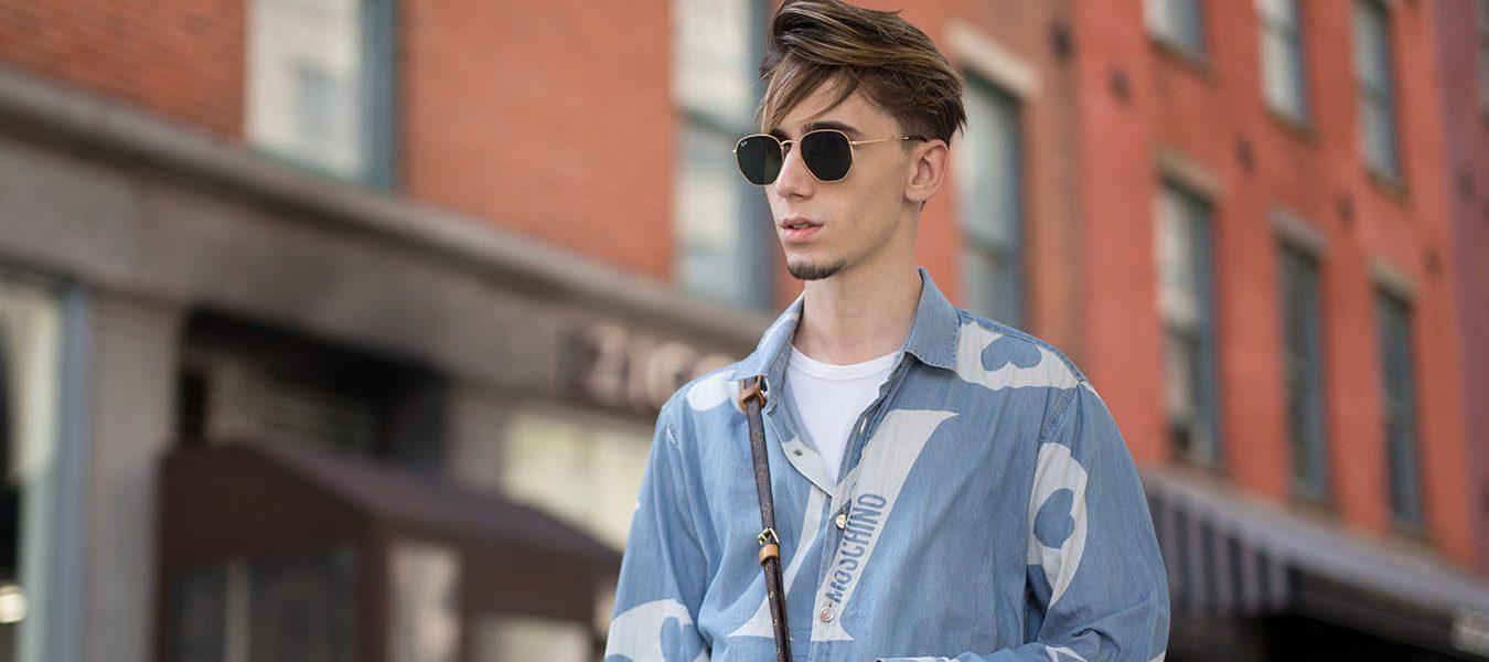 New York Fashion Week Men's Street Style Spring 2018 Day 1
