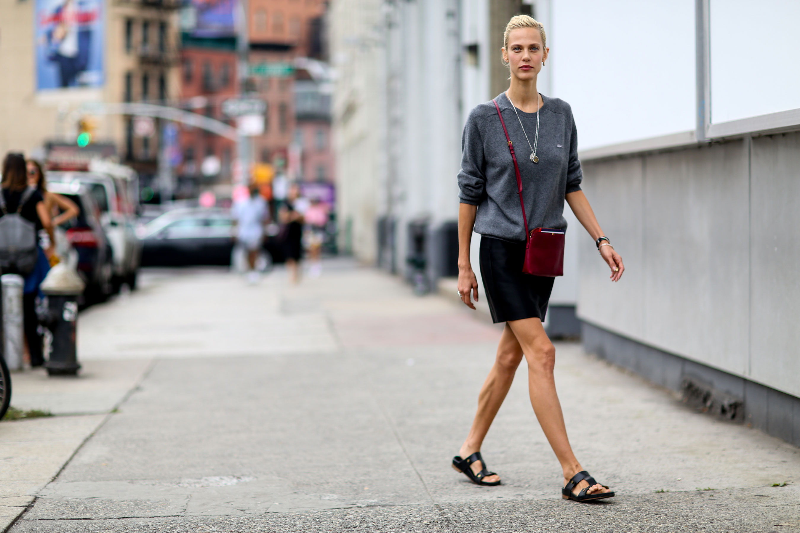 The Best Of New York Fashion Week Street Style Spring 2016 Day 3 The Impression