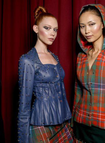 Antonio Ortega Fall 2017 Couture Fashion Show Backstage