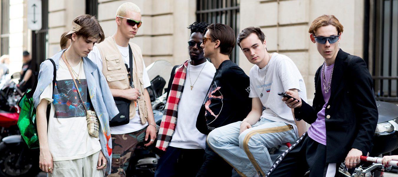 Paris Fashion Week Men's Street Style Spring 2018 Day 4