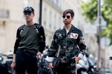 Paris Fashion Week Men's Street Style Spring 2018 Day 1