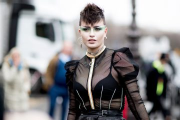 Paris Fashion Week Fall 2017 Street Style Day 2