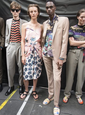 Paul Smith Spring 2018 Men's Fashion Show Backstage