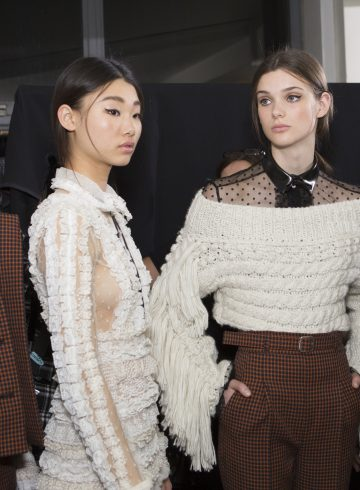 Philosophy Di Lorenzo Serafini Fall 2017 Fashion Show Backstage Continued