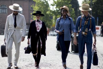 Firenze Pitti Uomo Fashion Week Men's Street Style Spring 2018 Day 4