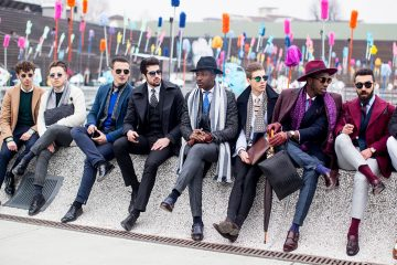 Firenze Pitti Uomo Men's Street Style Fall 2017 | Day 3