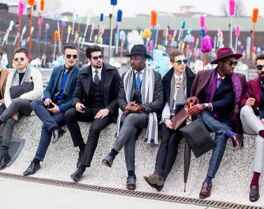 Firenze Pitti Uomo Men's Street Style Fall 2017 | Day 3