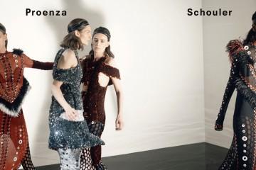 proenza schouler fall 2015 ad campaign photo