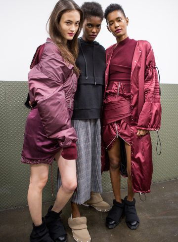 Public School Fall 2017 Fashion Show Backstage