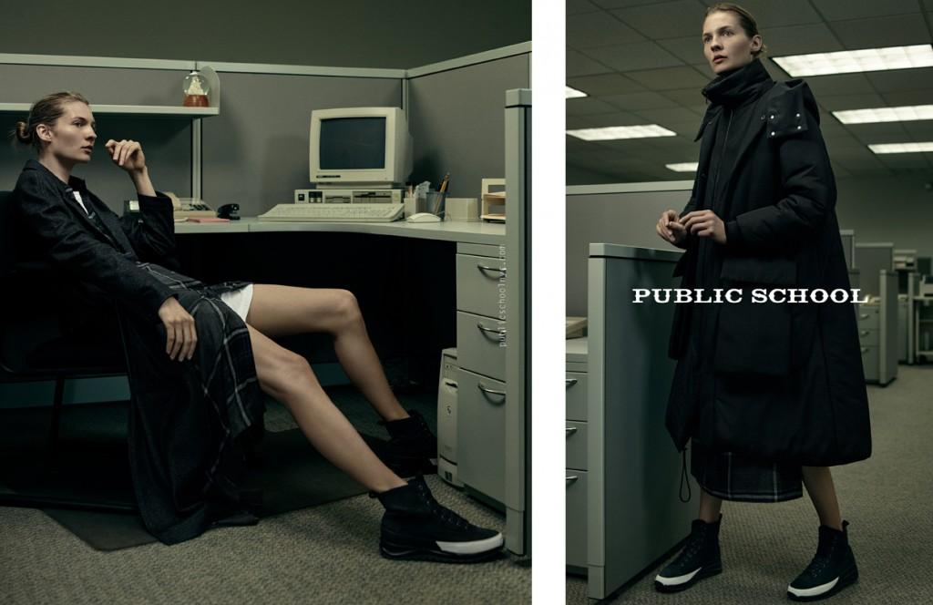 Public school designer ad campaign fall 2015 photo