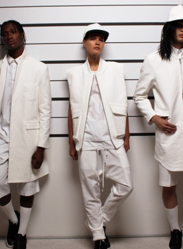 Public School spring 2016 mens show photo