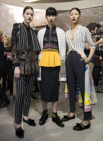 Rahul Mishra Fall 2017 Fashion Show Backstage