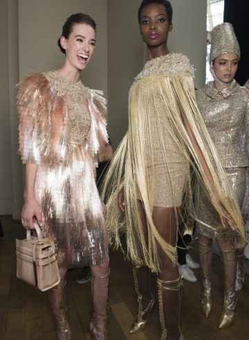 Ralph & Russo Fall 2017 Couture Fashion Show Backstage