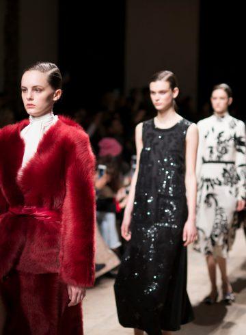 Rochas Fall 2017 Fashion Show Atmosphere