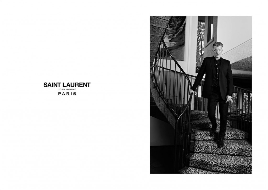 saint laurent josh homme by hedi slimane