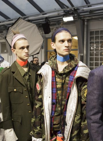 Sankuanz Fall 2017 Menswear Fashion Show Backstage