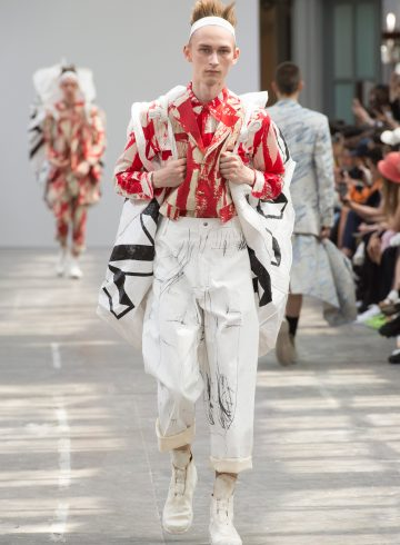Sankuanz Spring 2018 Men's Fashion Show