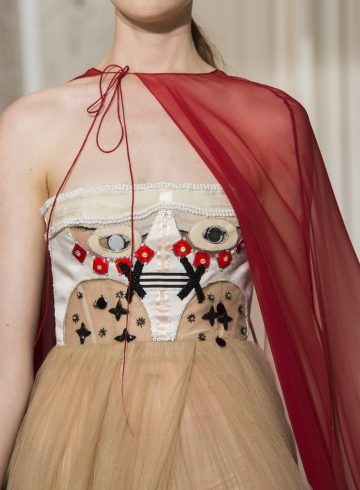 Schiaparelli Fall 2017 Couture Fashion Show Details