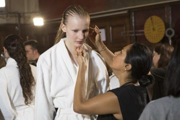 Proenza Schouler Spring 2018 Fashion Show Backstage Beauty