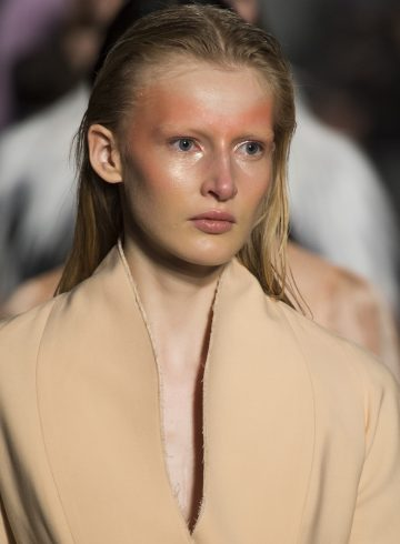 Francesco Scognamiglio Fall 2017 Fashion Show Beauty