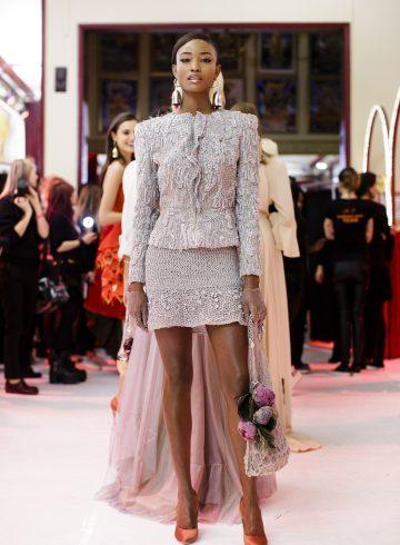 Ulyana Sergeenko Spring 2017 Couture Fashion Show