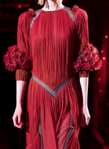 Ulyana Sergeenko Spring 2017 Couture Fashion Show Details
