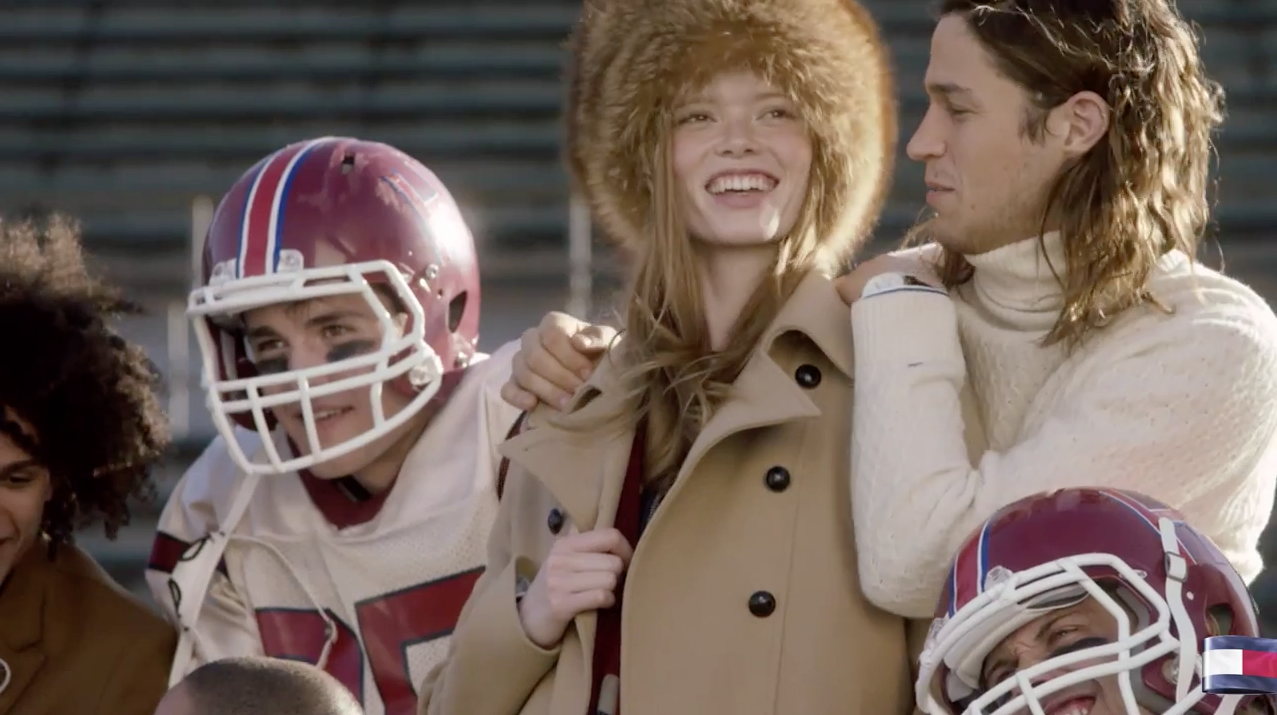 """Tommy Hilfiger's fall 2015 ad campaign featuring """"Team Hilfiger"""" photo"""