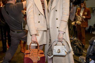 Trussardi Fall 2017 Fashion Show Backstage Beauty