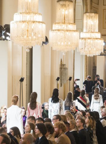 Giambattista Valli Fall 2017 Fashion Show Atmosphere Cont.