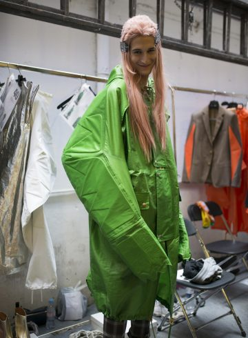 Walter Van Beirendonck Spring 2018 Men's Fashion Show Backstage