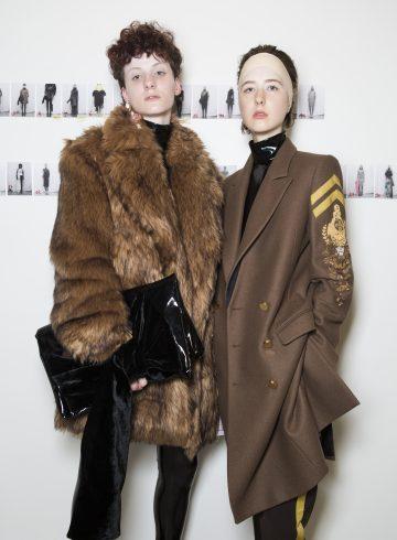 AF Vandevorst Fall 2017 Couture Fashion Show Backstage