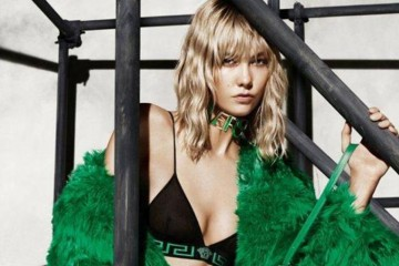 Versace fall 2015 ad campaign karlie kloss photo