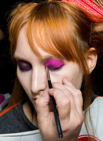 Vivienne Westwood Fall 2017 Fashion Show Backstage Beauty