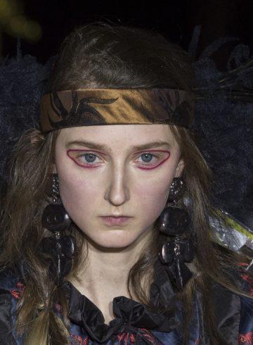 Vivienne Westwood Fall 2017 Fashion Show Beauty