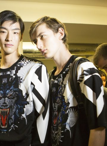Wolf Totem Spring 2018 Men's Fashion Show Backstage
